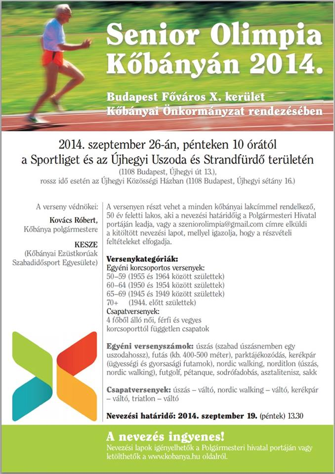 2014.09.16_Kobanya_Senior_Olimpia_plakat
