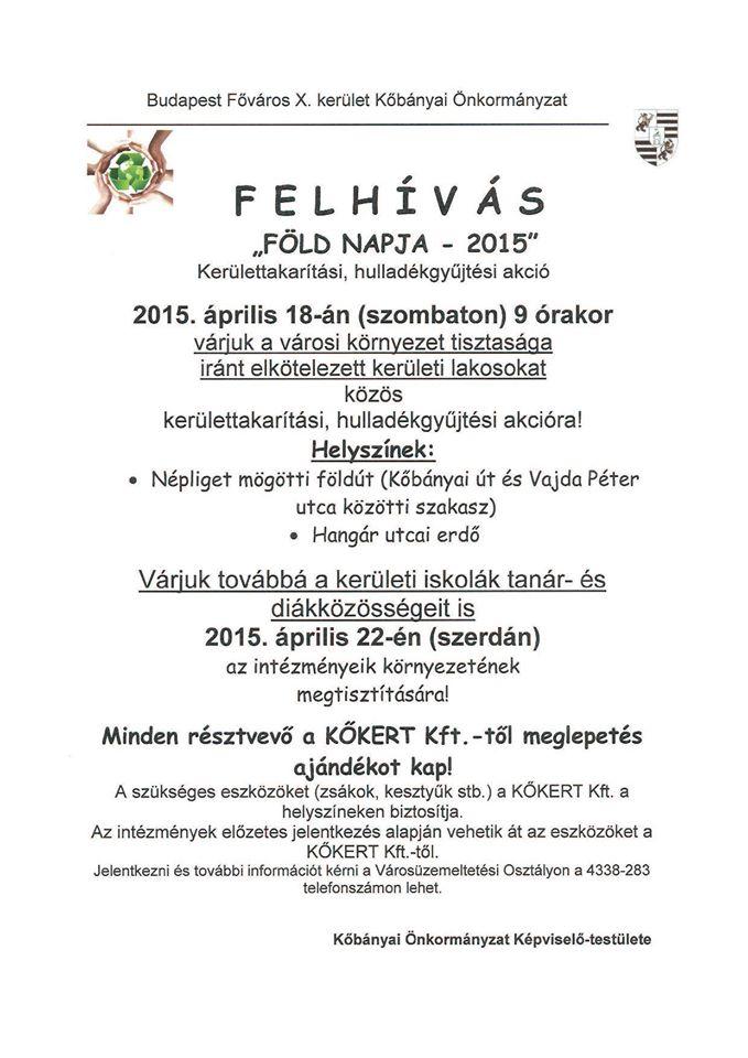 2015.04.14_Kobanya_Fold Napja_plakat