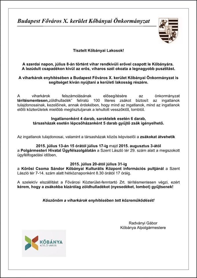 2015.07.14_Kobanya_gyujtozsak plakat