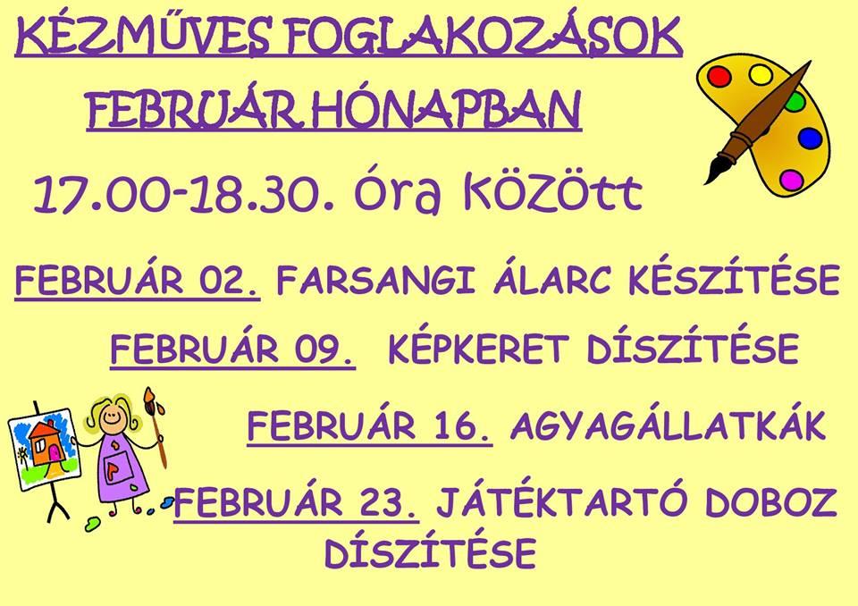 2016.01.29_PKH_februari kezmuves programok_plakat