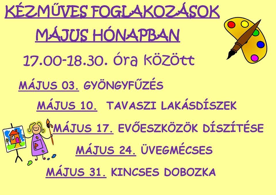 2016.04.28_PKH_majusi kezmuves foglalkozasok_plakat