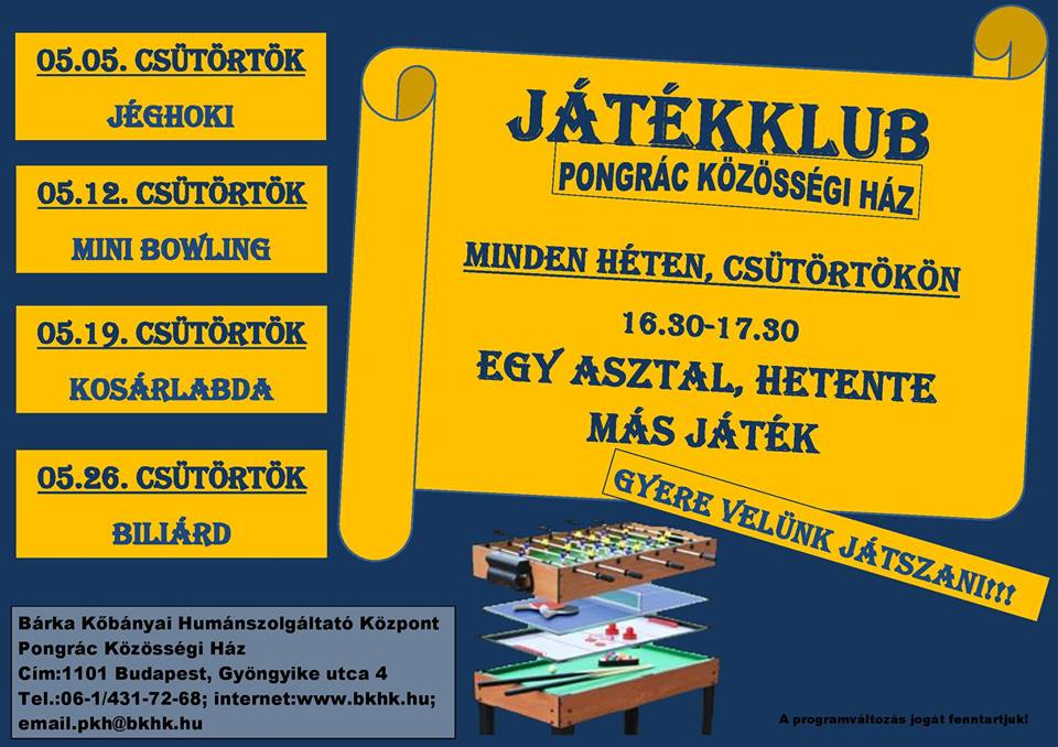 2016.04.29_PKH_majusi jatekklub_plakat