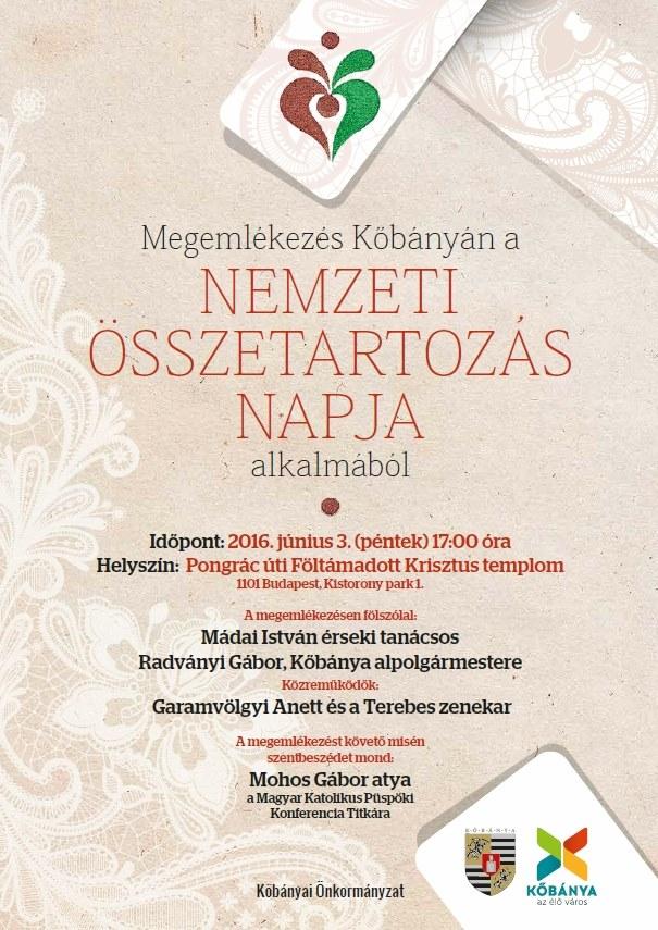 2016.05.30_Kobanya_Nemzeti Osszetartozas Napja_plakat