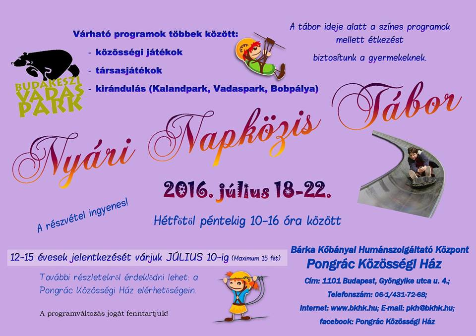 2016.06.27_PKH_nyari napkozis tabor_plakat