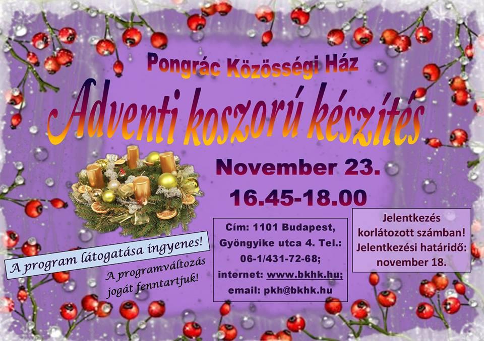 2016.11.08_PKH_adventi koszoru keszites_plakat