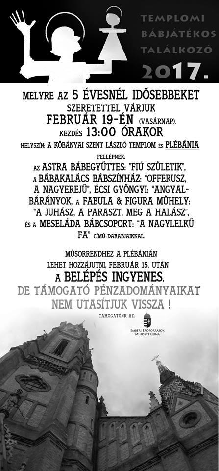 2017.02.14_Kobanya_Templomi babajatekos talalkozo_plakat