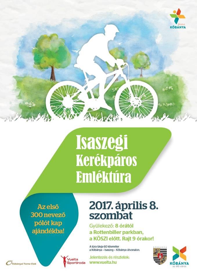 2017.03.18_Kobanya_Isaszegi Kerekparos Emlektura_plakat