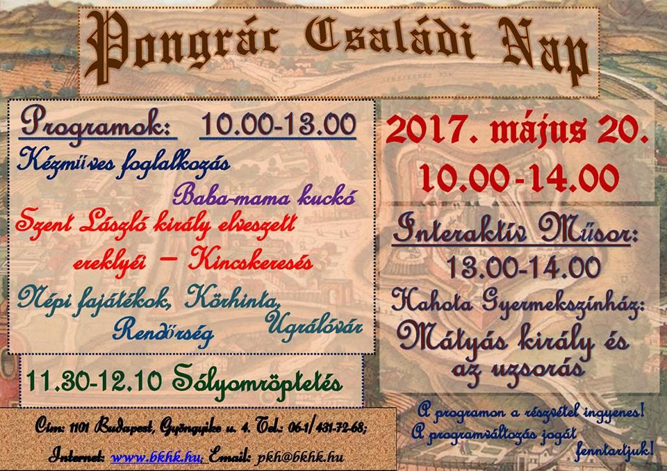 2017.04.26_PKH_Pongrac Csaladi Nap_plakat