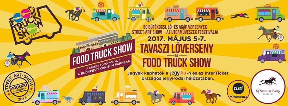 2017.05.02_Kincsem Park_Tavaszi loverseny es Food Truck Show_plakat