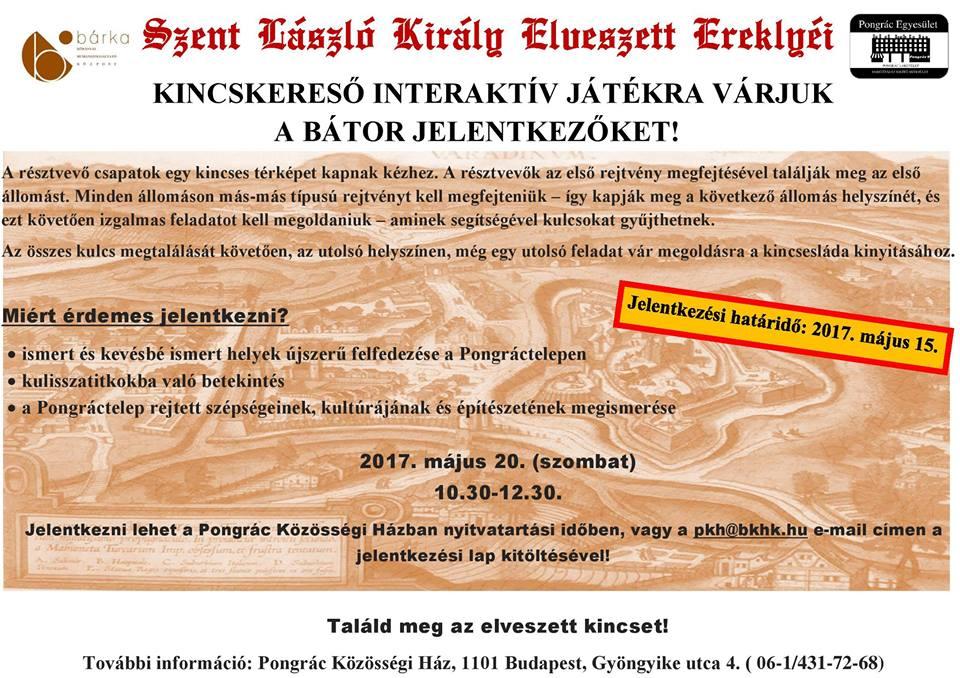 2017.05.04_PKH_kincskereso jatek_plakat